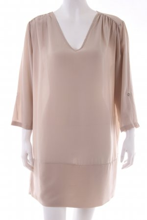 Alysi Tunic grey brown silk