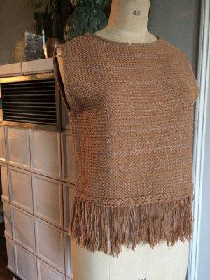 Alysi Pullover a maglia grossa multicolore