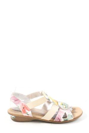 Alyssa Sandales confort motif de fleur style décontracté