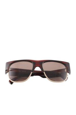 AM Retro Glasses brown casual look