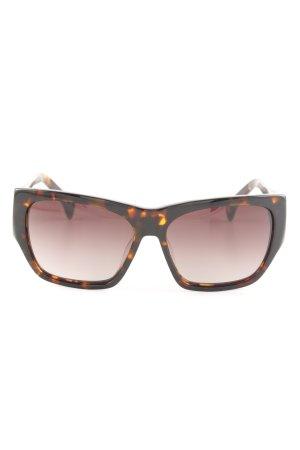 AM Retro Glasses brown-light orange color gradient casual look