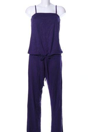 Jumpsuit lila Casual-Look