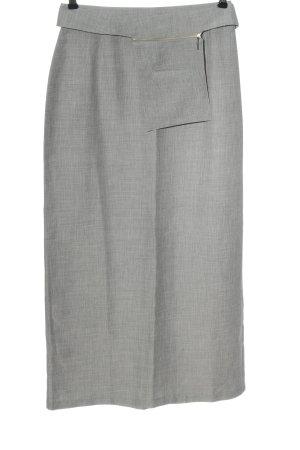 Amalfi Ołówkowa spódnica jasnoszary W stylu biznesowym