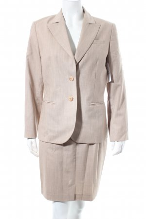 Amalfi Hosenanzug beige meliert Business-Look