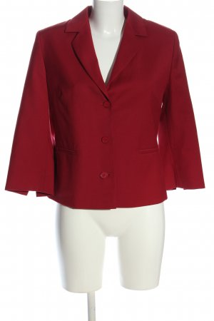 Amalfi Blazer court rouge style d'affaires