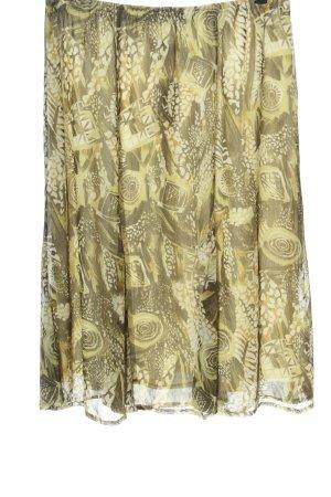 Amalfi Jupe mi-longue motif abstrait style décontracté