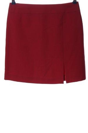 Amalfi Spódnica mini czerwony W stylu casual