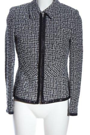Amalfi Tweed Blazer white-black flecked casual look