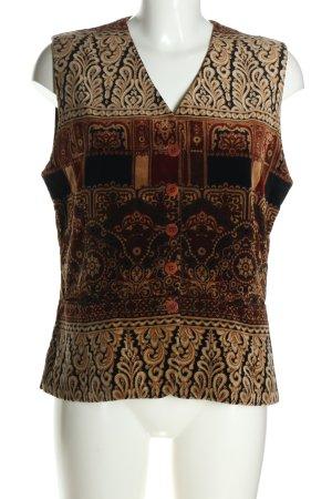 Amandine Gilet de costume Mélange de motifs style décontracté