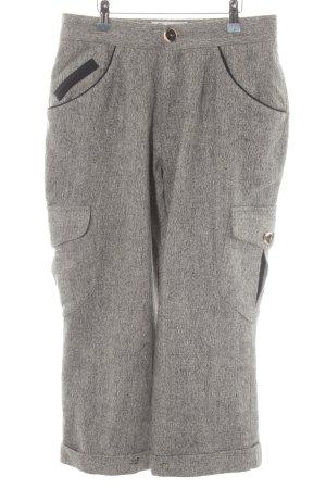 Amann Chino lichtgrijs-grijs gestippeld country stijl