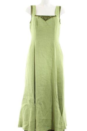 Amann Maxi-jurk groen elegant