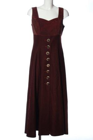 Amann Maxi-jurk bordeaux elegant