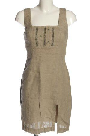 Amann Sukienka mini kremowy W stylu casual