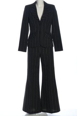 Amantis Costume business noir-blanc style décontracté
