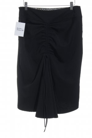 Amaranto High Waist Rock schwarz Business-Look