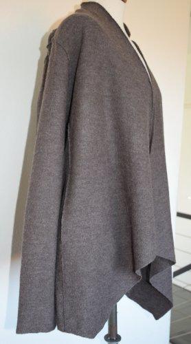 Amaryllis Veste en laine gris brun laine