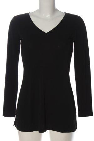 Amazone Long Sleeve Blouse black casual look