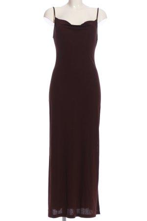 Amazone Maxi Dress brown elegant