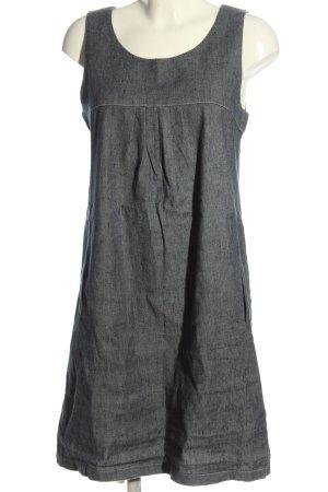 Amazone Mini-jurk lichtgrijs gestippeld casual uitstraling