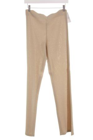 Amazone Stoffen broek beige glitter-achtig