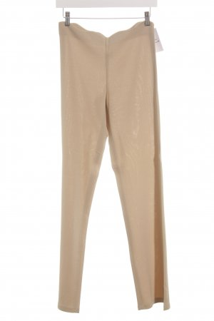 Amazone Pantalon en jersey beige pailleté