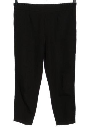 ambar Pantalon 3/4 noir style décontracté