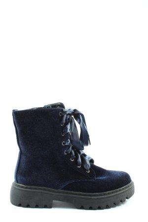 Ambellis Stivaletto stringato blu-nero stile casual