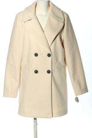 AMBER & JUNE Cappotto corto crema stile casual