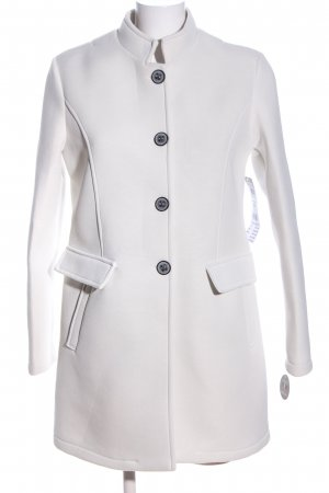 AMBER & JUNE Short Coat light grey casual look