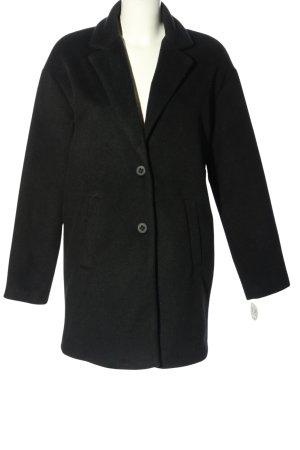 AMBER & JUNE Cappotto corto nero stile professionale