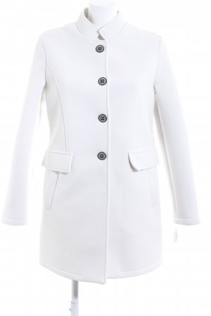 AMBER & JUNE Short Coat white business style
