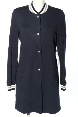 AMBER & JUNE Long Jacket blue casual look