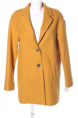 AMBER & JUNE Winter Coat light orange business style
