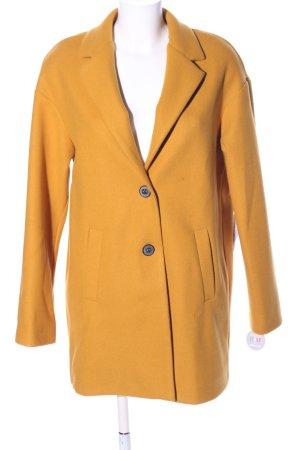 AMBER & JUNE Winterjas licht Oranje zakelijke stijl
