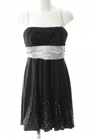 Ambiance Evening Dress black-light grey elegant