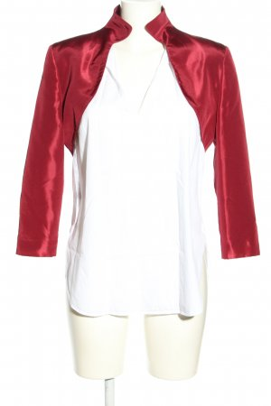 Ambiance Bolero red casual look