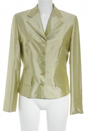 Ambiance Short Blazer pale green business style