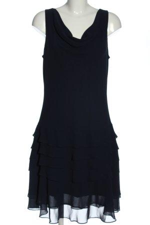 Ambiance Midi-jurk blauw casual uitstraling