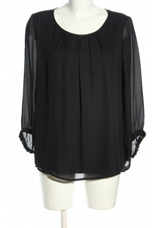 Ambiance Slip-over Blouse black casual look