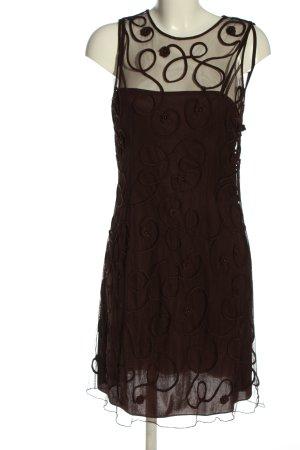 Ambiance Kanten jurk bruin elegant