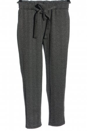 Ambiance Jersey Pants light grey-black flecked casual look