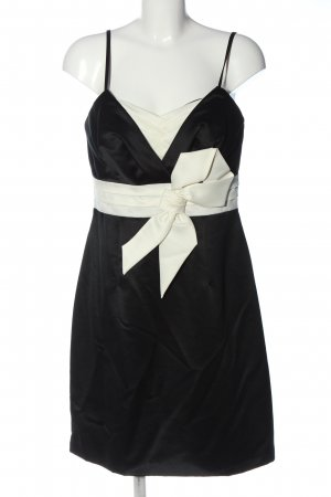 Ambiance Pinafore dress black-white elegant