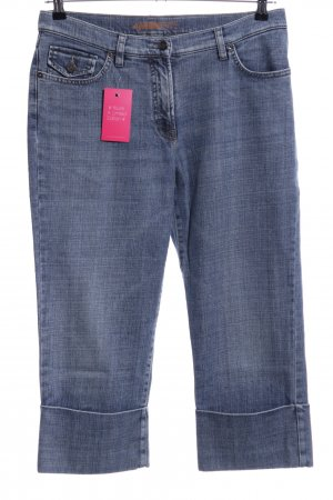 Ambiente 3/4-jeans blauw casual uitstraling
