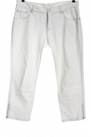 Ambiente 3/4-jeans wit casual uitstraling