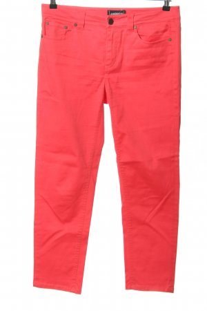 Ambiente Jeans a 7/8 rosso stile casual