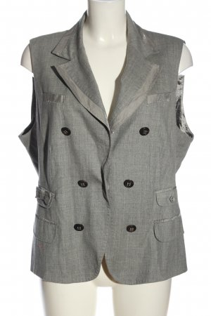Ambiente Waistcoat light grey flecked business style