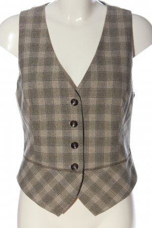 Ambiente Waistcoat check pattern casual look