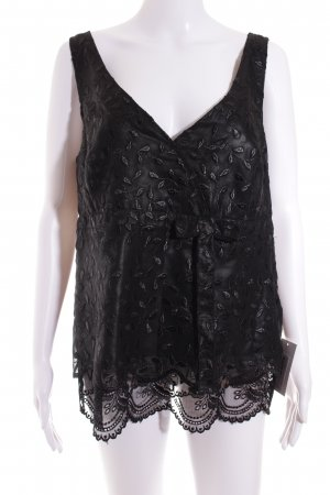 Ambiente Blouse Top black elegant