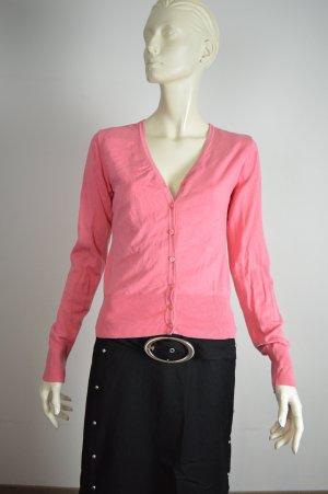 Ambiente Cardigan neon pink viscose