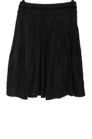 Ambiente Plooirok zwart casual uitstraling
